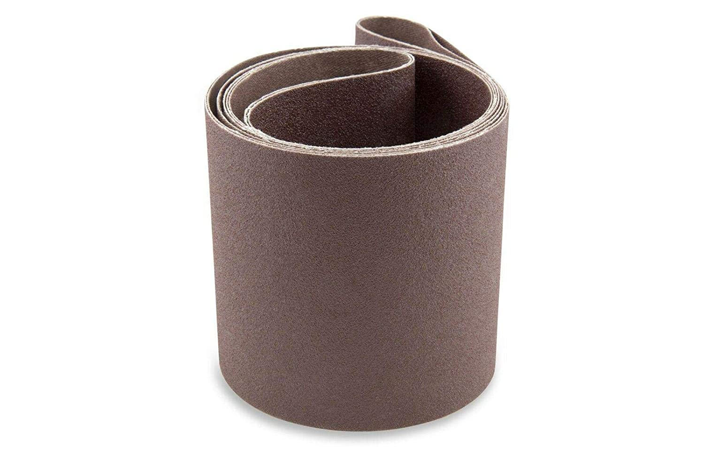 4X36INCH100 모래 알루미늄 산화물 다목적 프리미엄 모래로 덮는 벨트 6 팩-샌더 벨트-샌더 툴 모래는 종이-알루미늄 산화물 모래로 덮는 벨트
