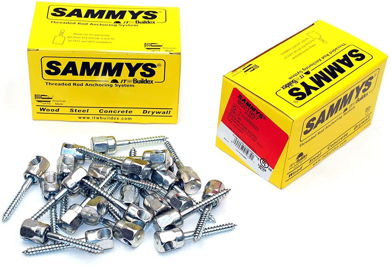 (25) 새미 스 3 | 8-16 X 2 사이드 와인더 스레드 로드 행거 용 나무 8021957