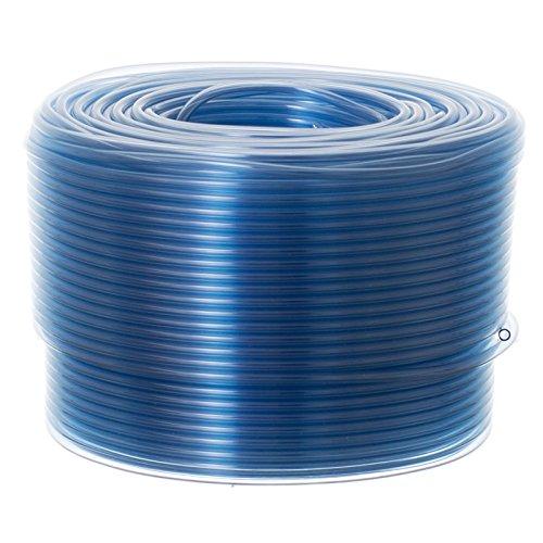MAXX FLEX 3 | 16 ID X 100 FT - FLEXIBLE NON-TOXIC BPA FREE TRANSLUCENT AIRLINE VINYL TUBING (BLUE)