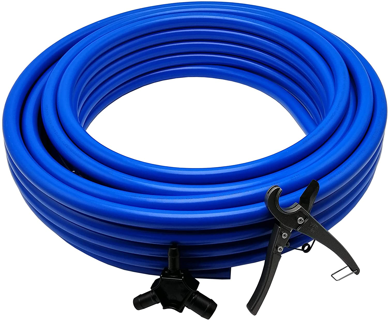 3 | 4 INCH TUBING INDUSTRIAL COMPRESSED AIR PIPING SYSTEM 100 FEET LENGTH