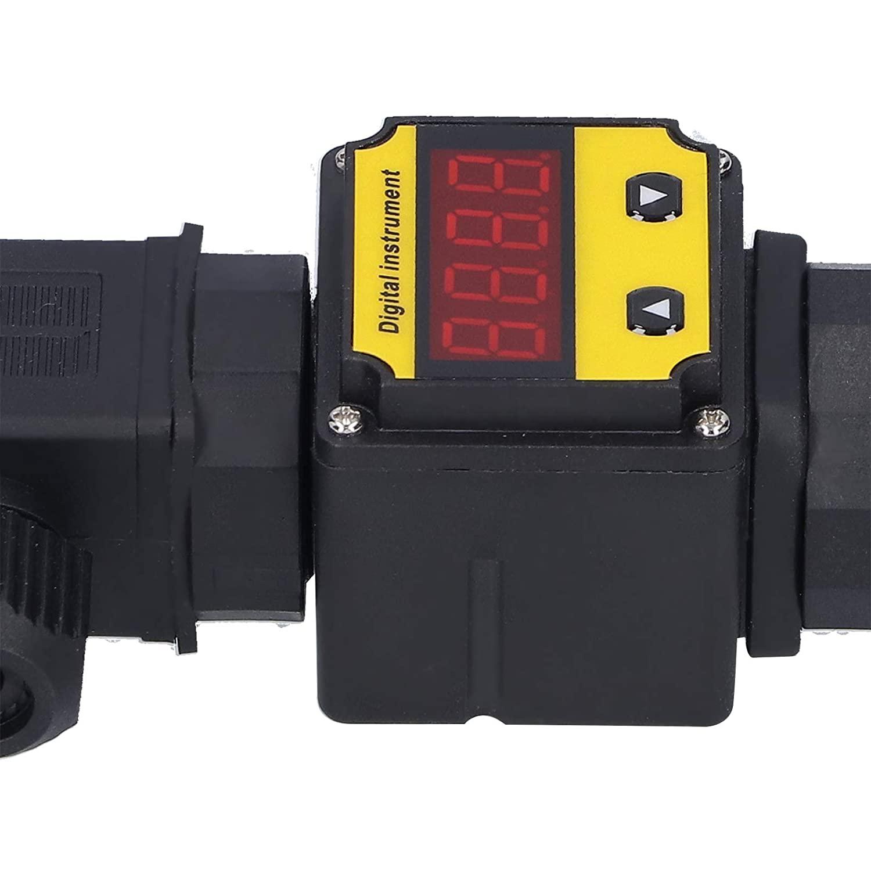 압력 트랜스미터 압력 트랜스 듀서 압력 센서 오일 압력 측정 용 가스 용 디젤 용 디지털 디스플레이와 호환 가능(0-10MPA PISA LEANING TOWER TYPE)