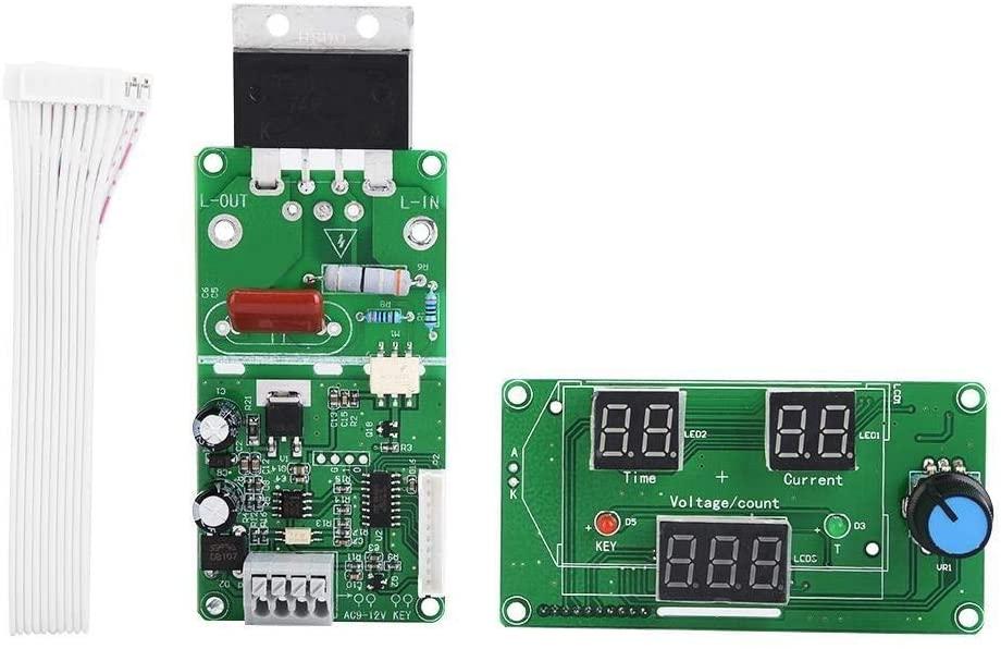용접기 컨트롤러-스폿 용접기 컨트롤러 스폿 용접기 시간을 제어 모듈 디지털 디스플레이 컨트롤러 보드(100A)