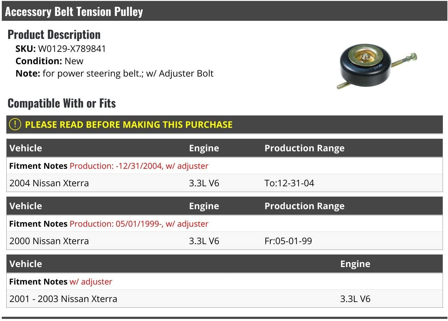 Belt Tensioners Automotive IINAWO 1pc Aluminum Drive Belt ...