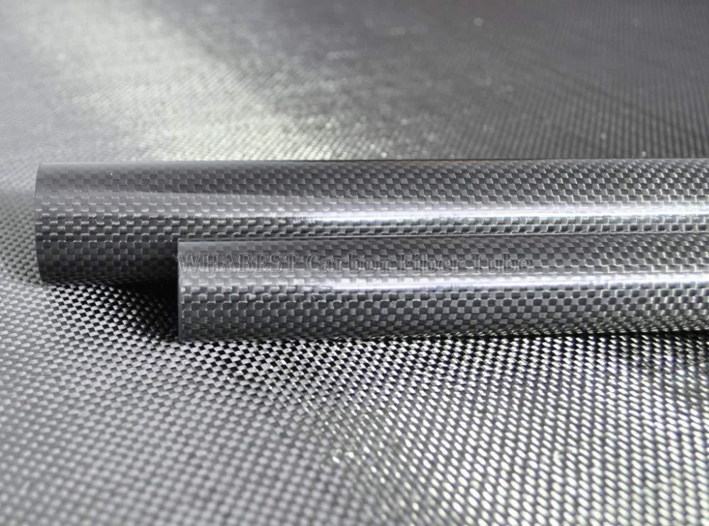 SQINAA Graphite Rod High Purity Graphite High Density Tenacity Virgin Graphite Bar for Metallurgy Machinery Electronics Chemical Industry,20mm