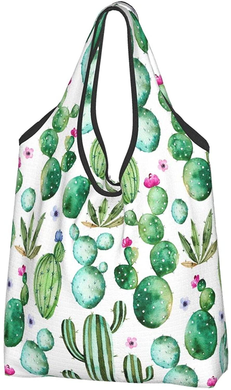 열대 야자 나무 휴대용 경량 쇼핑백 재활용 재사용 식료품 가방 에코 친화적 인 구매자 가방