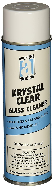 안티 포착 기술 17053 크리스탈 투명 유리 클리너 에어로졸 캔 18 액량 온스