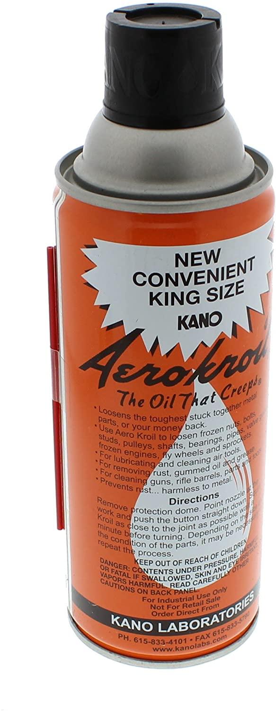 KANO AEROKROIL 관통 오일 킹 사이즈 13 온스. 에어로졸(AEROKRO0ILKING)