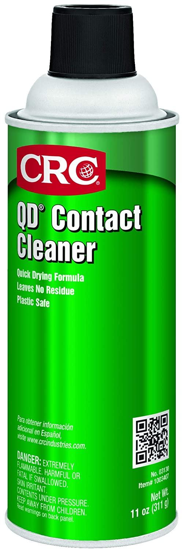 CRC03130CS CRC QD 접촉 청소기 11WT 온스 16FL. 오즈. 에어로졸(12 팩) 맑은 물 | 흰색