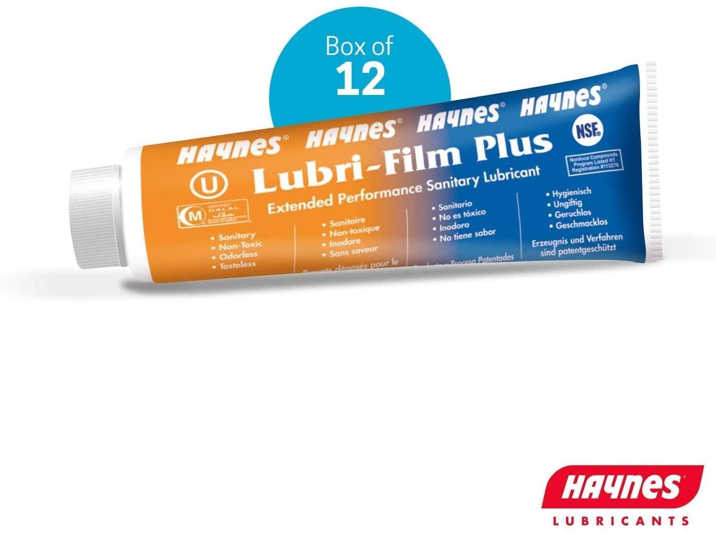 헤인즈 LUBRI-필름 플러스 튜브 12-4 온스. 상자 당 튜브