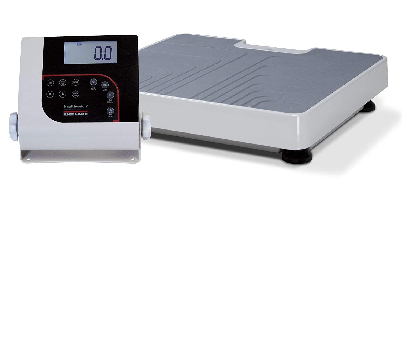 라이스 레이크 194728 150-10-7BLE 디지털 의사 규모 바닥 수준 550LB(250KG)X0.2LB(100G)2 년 보증