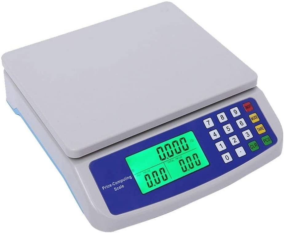 YZSHOUSE30KG   1G 디지털 주방 무게 저울 LCD 디지털 PCS 용기 기능 정밀 저울 전자 가격 컴퓨팅 상점 무게 저울 22 22.5 6.4CM