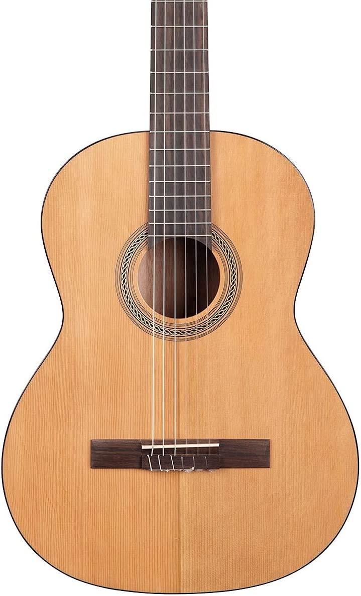 KALA KA-GTR-NY25 시더 탑 마호가니 나일론 스트링 클래식 기타