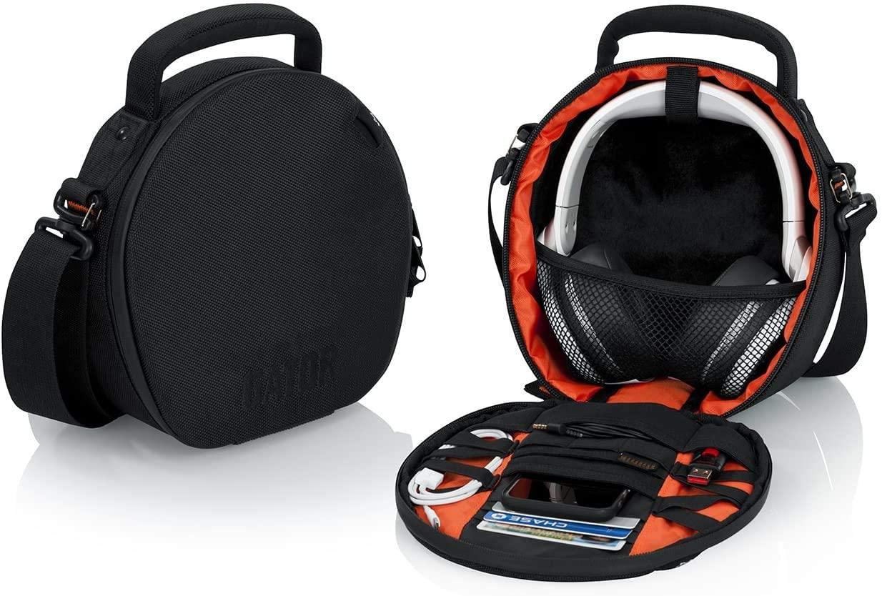 AUDIO-TECHNICA ATH-M50X 전문 스튜디오 모니터 헤드폰 블랙 케이스 헤드폰 액세서리 번들
