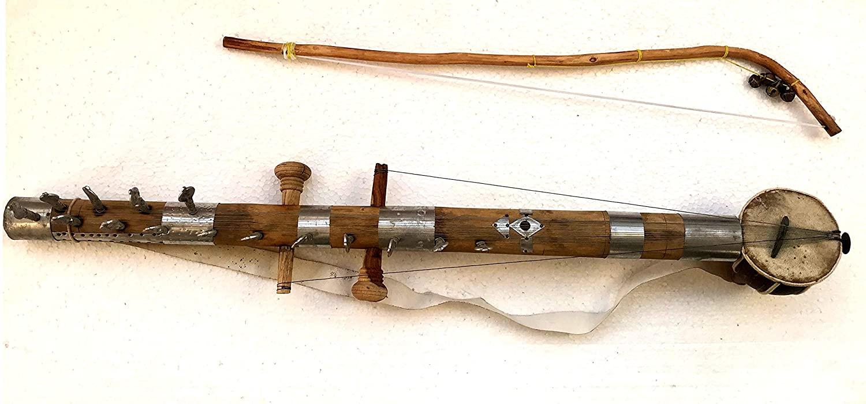 페델 라반 하타 라자스탄의 민속 악기 사랑기 라반 하타 민속