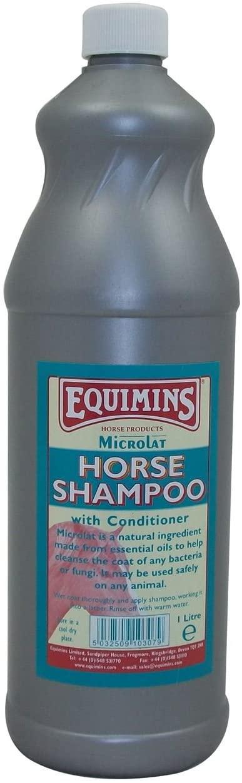 MICROLAT HORSE SHAMPOO EQUIMINS EQUESTRIAN SHAMPOO & CONDITIONER 1.0L