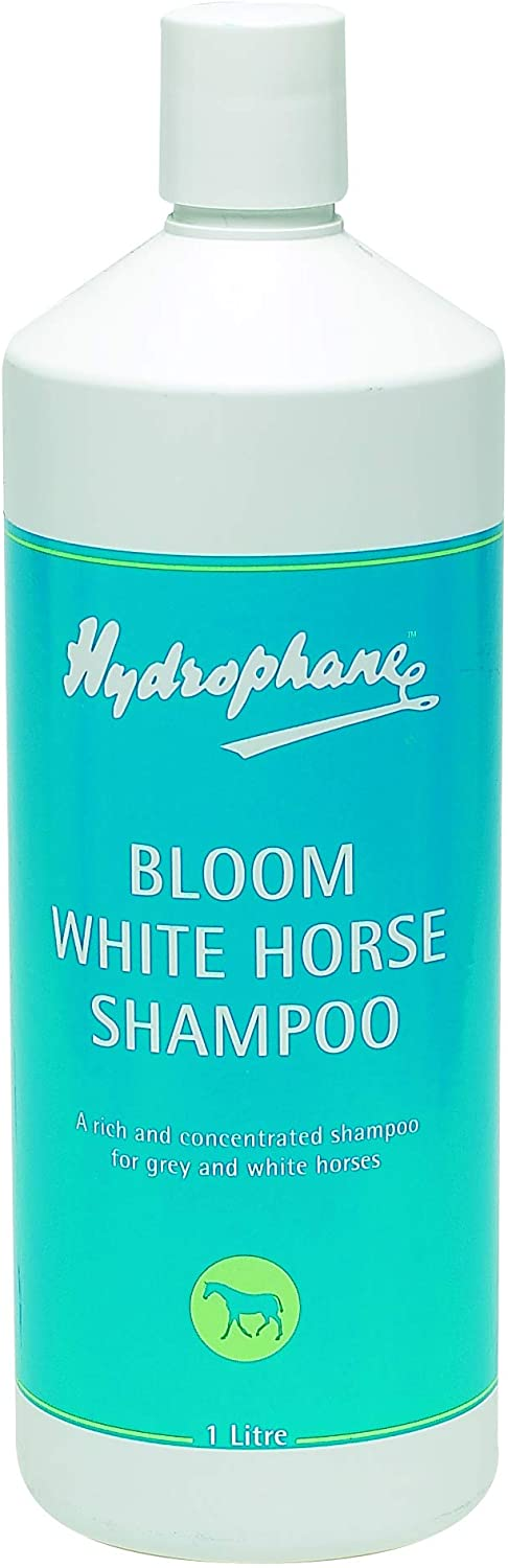 BLOOM WHITE HORSE SHAMPOO HYDROPHANE HORSE SHAMPOO AND CONDITIONER 1.0L