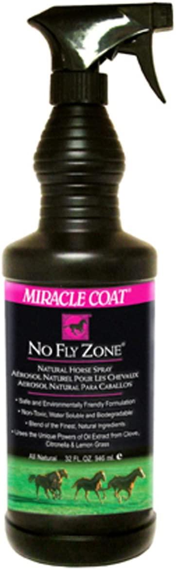 MIRACLE COAT NO FLY ZONE FOR HORSES 32 OZ