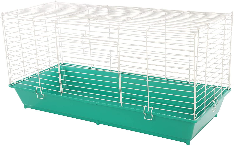 도자기 제조 작은 동물을위한 홈 스위트 홈 애완 동물 케이지-색상이 다를 수 있습니다