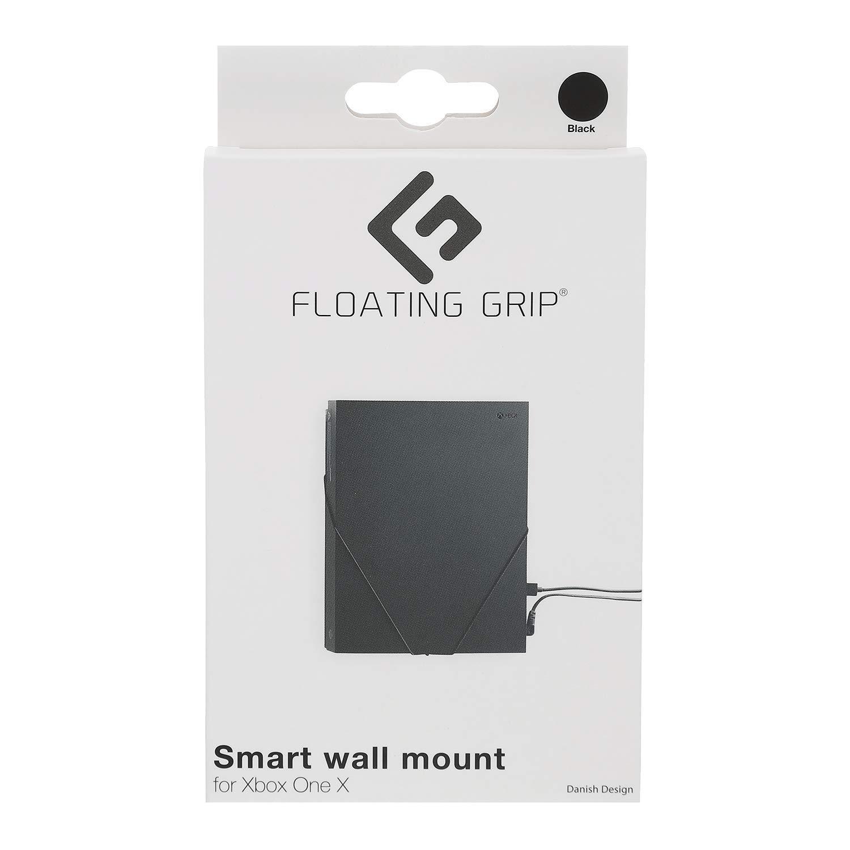 부동 그립 벽 마운트 1X XBOX ONE X|블랙 로프|관 전시하거나 숨기기 XBOX ONE X 벽에 가까운 당신의 TV 에서 최고 슬림하지만 매우 강력한 벽 마운트에 의해 부동립