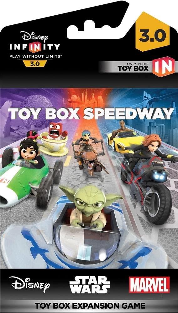디즈니 INFINITY3.0EDITION:장난감 상자 스피드 웨이(장난감 박 확장 게임)-지 않은 특정 기계