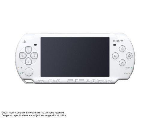 플레이 스테이션 포터블(PSP)2000 시리즈 핸드 헬드 게임 콘솔 시스템(리뉴얼)(펄 화이트)