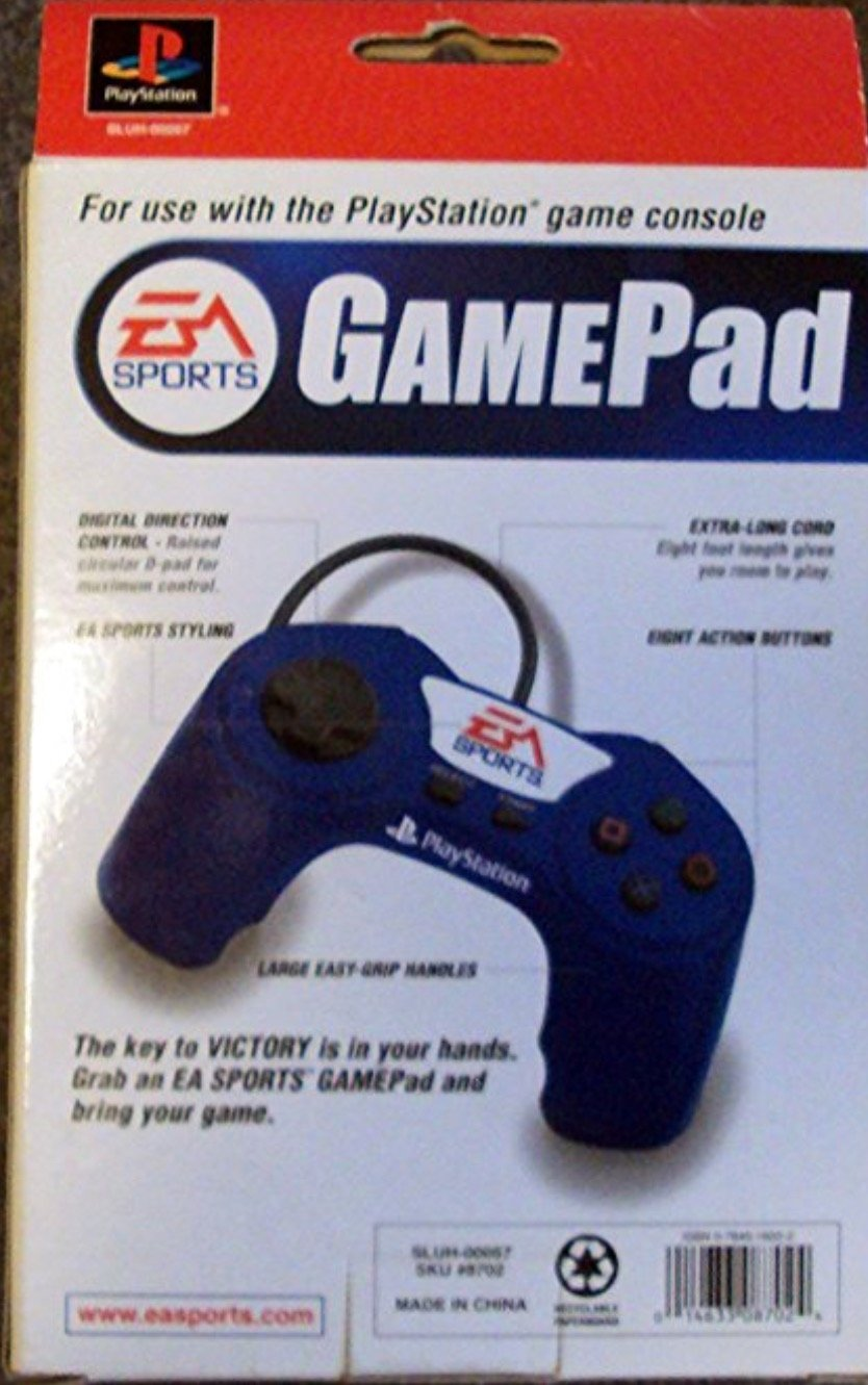 PSX 플레이 스테이션 게임 패드 EA 스포츠 소프트 그립