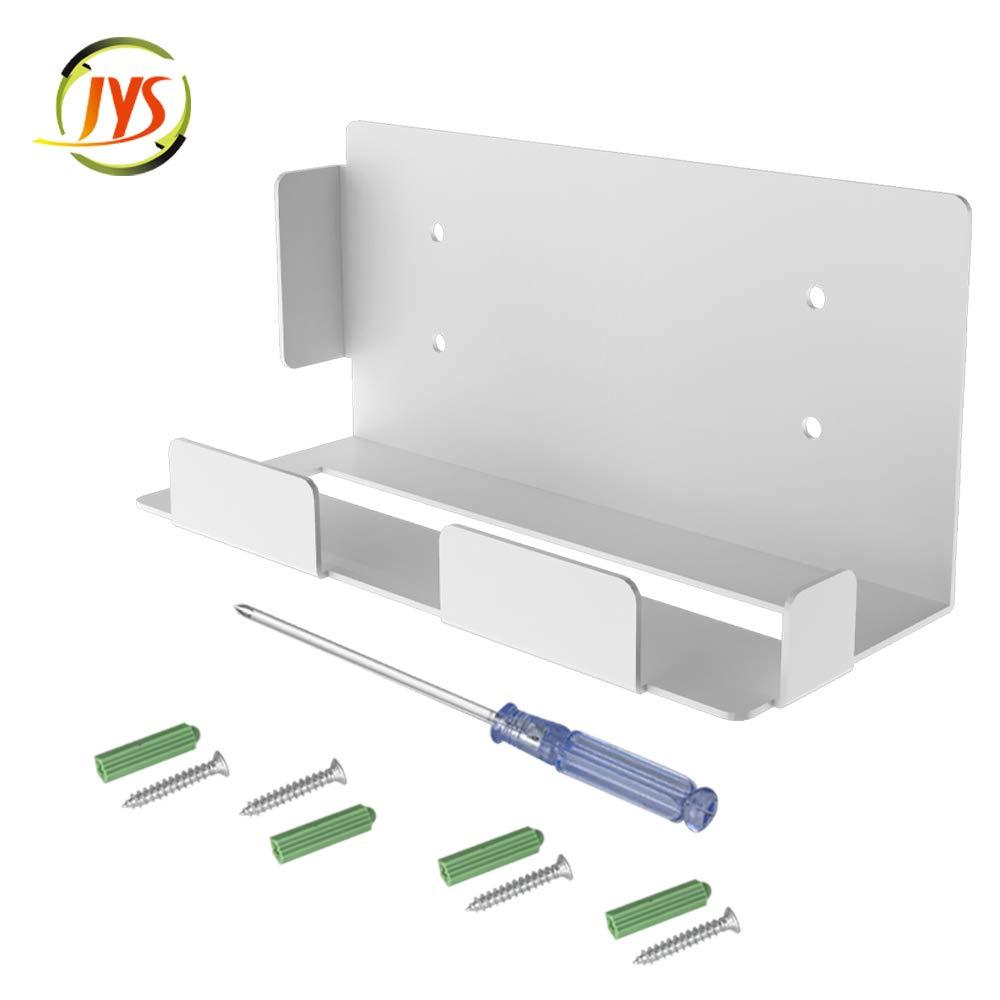 PS5 벽 산-가장 새로운 벽 마운트 브래킷에 대한 PLAYSTATION5(디스크와 디지털) 안정적인 금속 벽 서 PS5 콘솔 벽면 장착 서 홀더 | 선반(WHITE)
