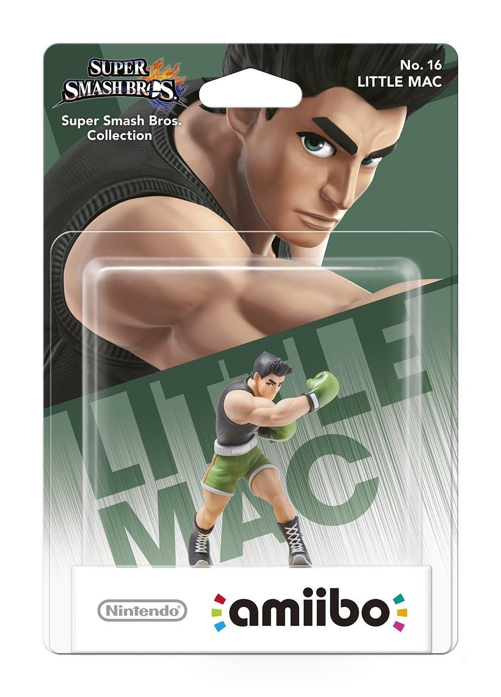 닌텐도 AMIIBO 슈퍼 스매쉬 브라더스-리틀 맥(닌텐도 WII U   3DS)