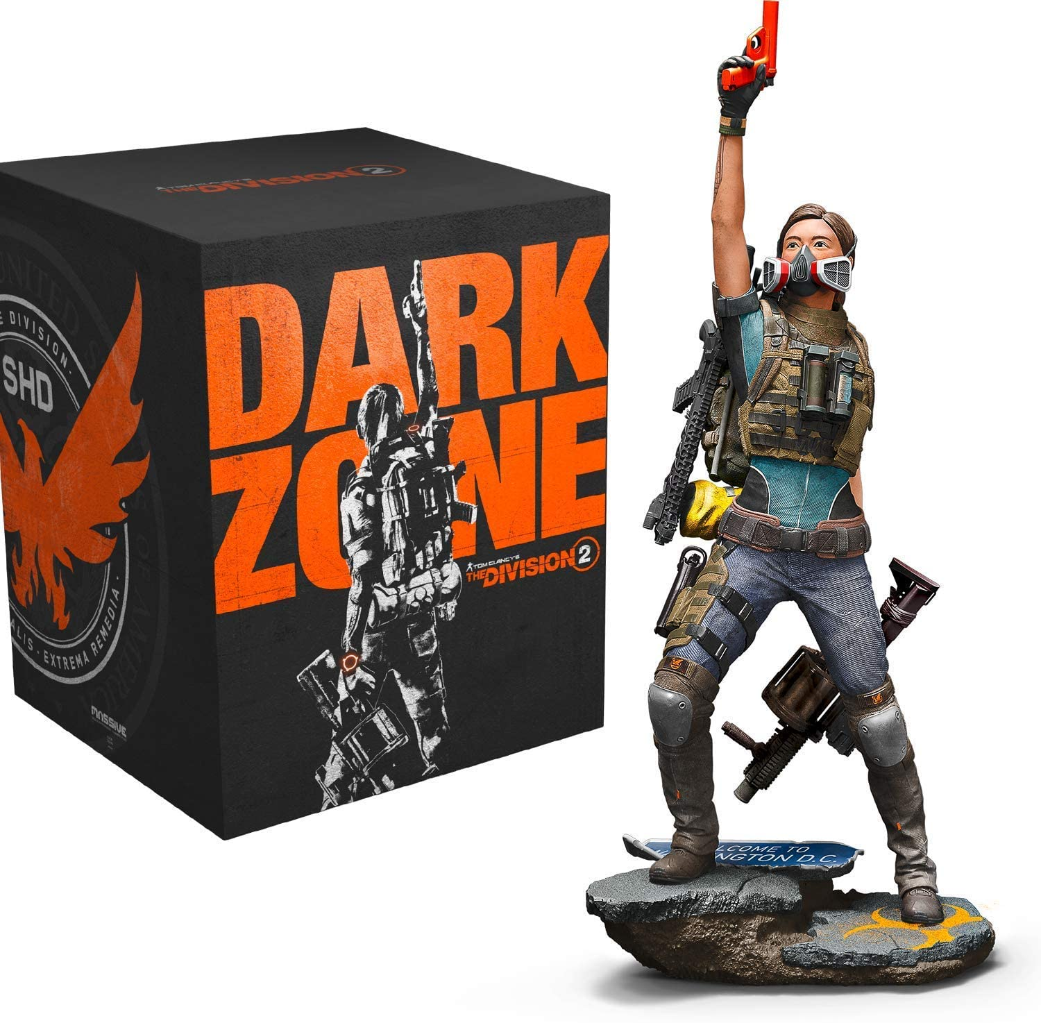 XBOX ONE TOM CLANCY 의 THE DIVISION2THE DARK ZONE DEFINITIVE COLLECTOR`S EDITION 번들