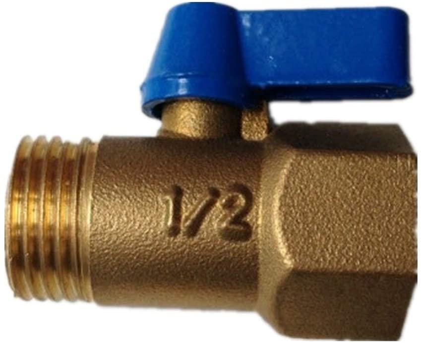 SHENLIJUAN 밸브 DN15 물 밸브 볼 밸브 황동 밸브 커넥터 릴리프 밸브 액세서리