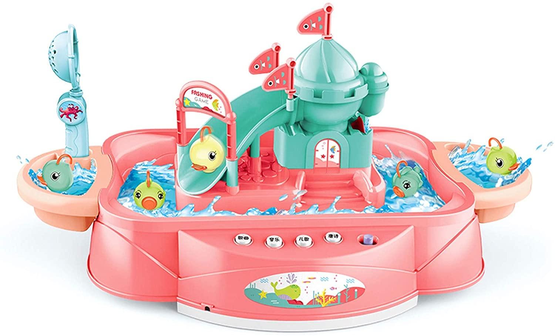 QJJ 어린이 낚시 재미 조기 교육 장난감 전기 자기 물고기 다기능 아기 혜택 지능 개발 소년 1-3 세 6 소녀 (배터리없이)