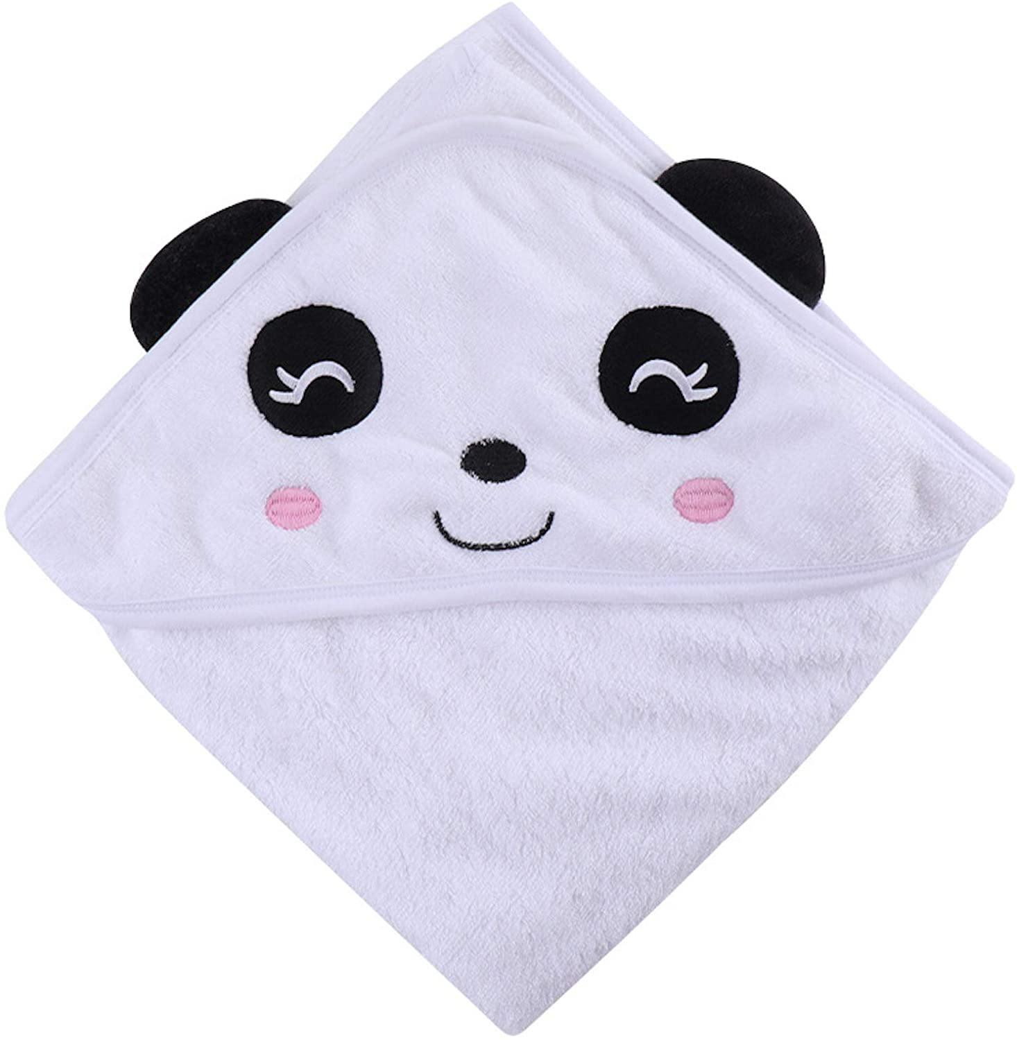 ELONGLIN HOODED BATH TOWELS FOR BABY TODDLERS EXTRA SOFT BAMBOO FIBER BABYTOWEL