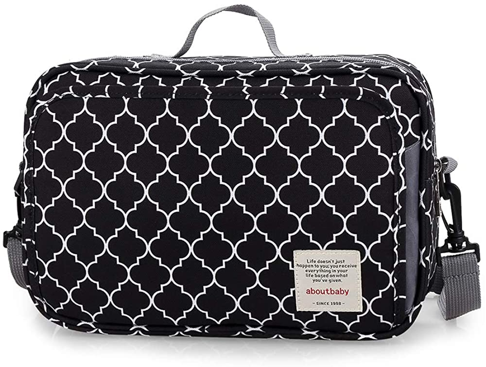 BABY DIAPER BAG STROLLER BAG - DIAPER CADDY TOTE BABY STROLLER BAG FOR DIAPERS WIPES & TOYS