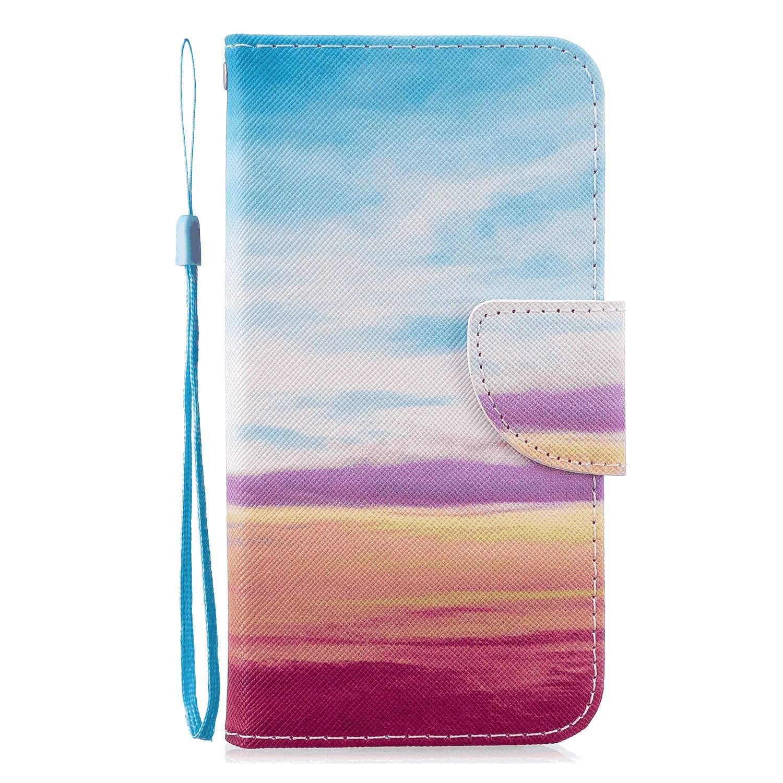 아이폰과 호환 PU 가죽 플립 커버 11 프로 맥스 아이폰에 대 한 레인보우 지갑 케이스 11 프로 맥스