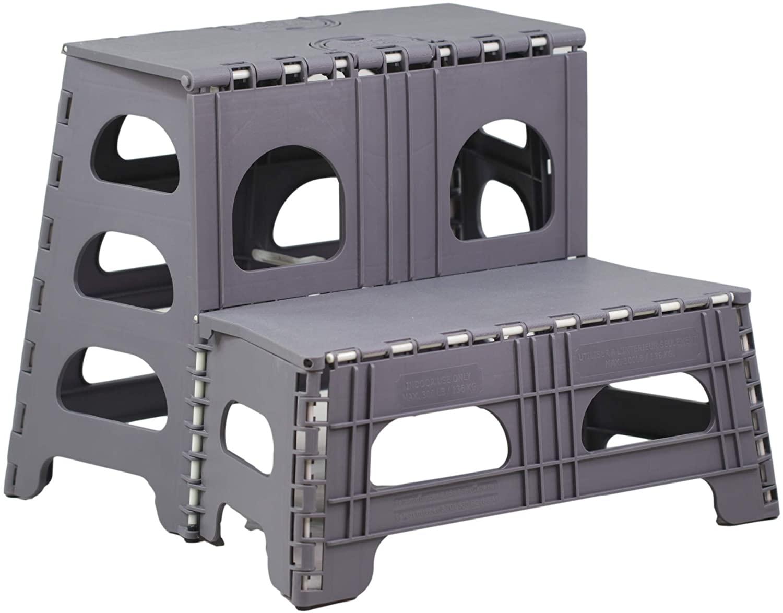 벌 깔끔한 2 단계로 접히는 의자를 위한 부엌 옷장 RV&상-접을 수 있는 단계의 자리에 이상적인 노인 어린이