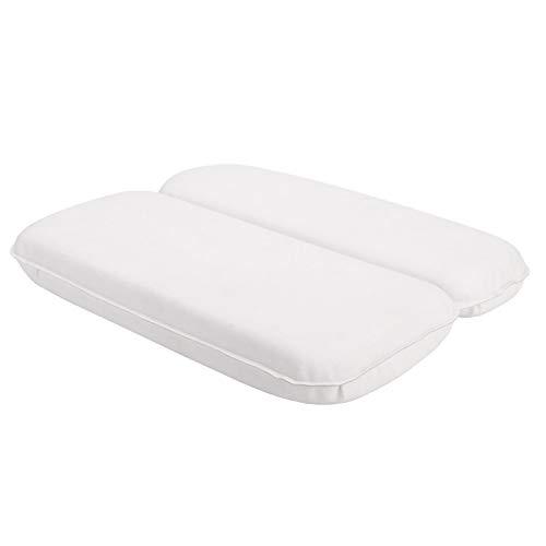 XIANGMENG 부드러운 PU 패딩 거품 목욕 머리 베개 7 흡입 컵 정형 지원 및 스파 모든 목욕 유형에 적합