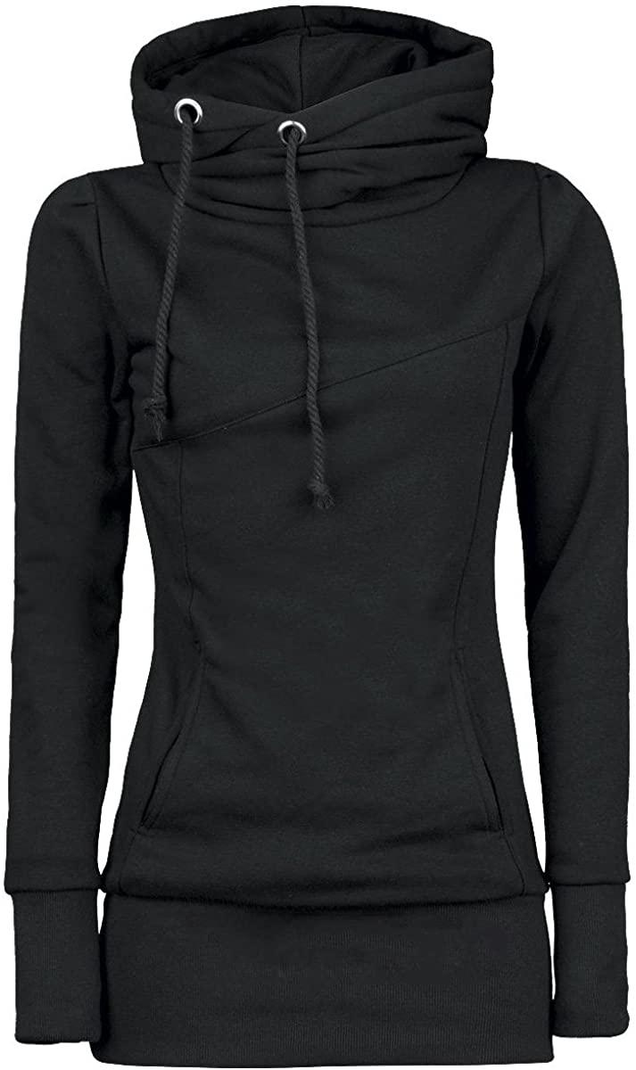 855 여자 패션 느슨한 긴 스웨터 솔리드 컬러 티셔츠 따뜻한 긴 소매 풀오버 블라우스 유지