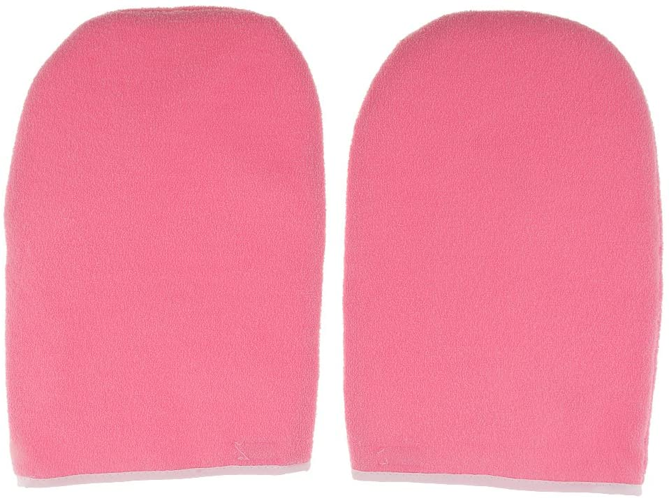 MENOLANA2X 파라핀 왁스 보호 핸드 케어 스파 마스크 모이스춰 라이징 장갑 MITTS PINK