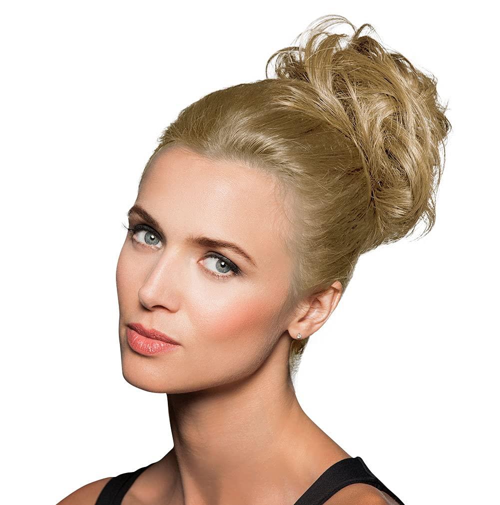 HAIRDO 하이라이트 포장 색깔 R14 | 88H 황금 밀 연장 TOUSLED 머리 TRU2LIFE 열 친절한 합성 HAIRPIECE 다수 길이