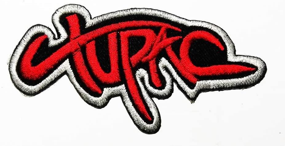뮤직 T 힙합 랩 아티스트 뮤직 로고 패치 자수 패치 배지 가방에 바느질 아이언 모자 청바지 신발 T 셔츠 아플리케