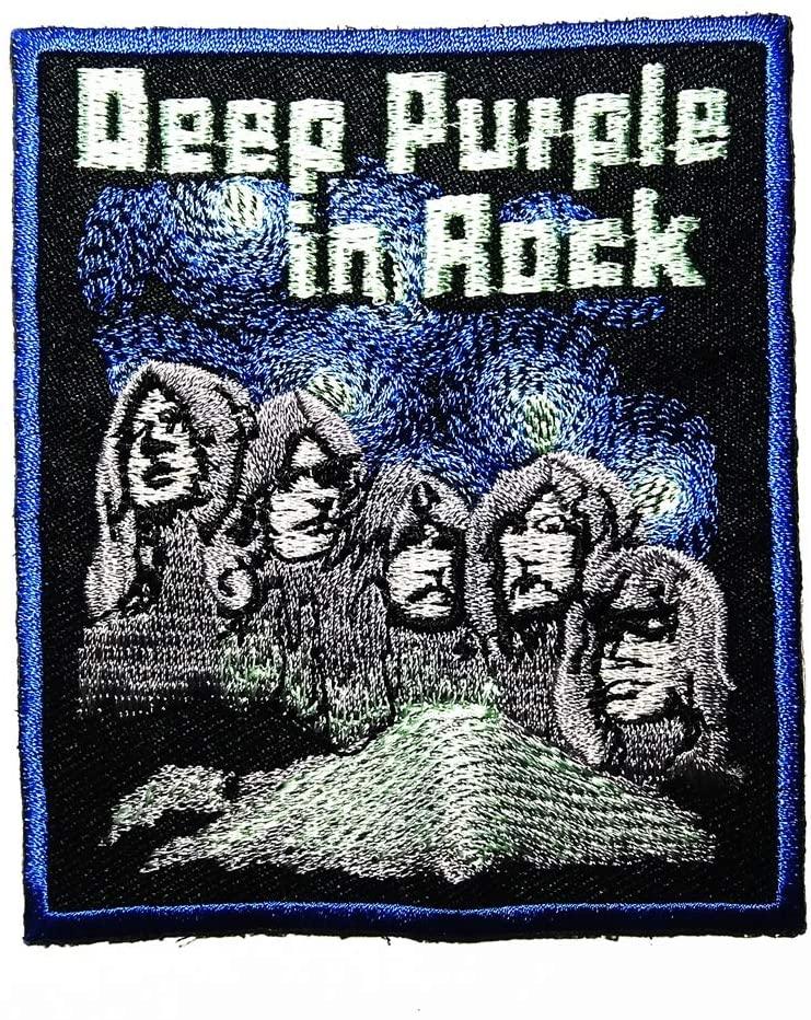 록 하드 록 헤비 메탈 밴드 로고 패치 자수 패치 배지 가방 모자 청바지 신발 티셔츠 아플리케에서 음악 D