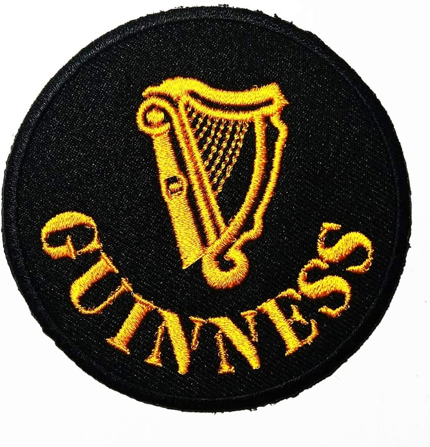 WORLD CLASS BLACK BEER LOGO PATCH EMBROIDERED SEW IRON ON PATCHES BADGE BAGS HAT JEANS SHOES T-SHIRT APPLIQUE