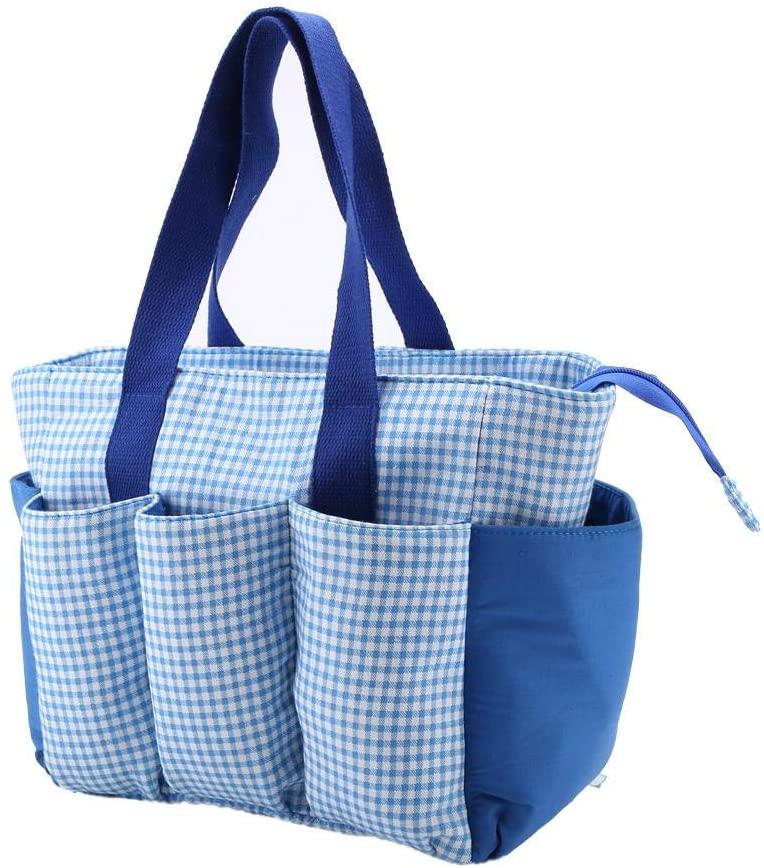 TAIDDA 뜨개질 수납 가방 가정용 바느질 용품용 천 심플 경량 휴대용 원사 홀더 오거나이저 백 사용