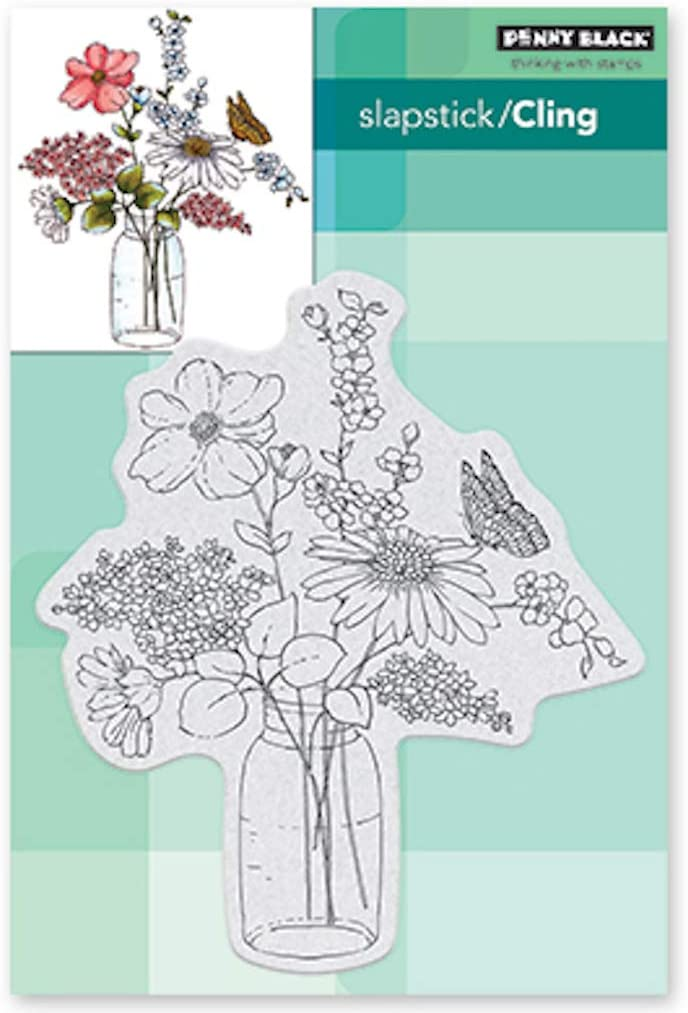 PENNY BLACK 40-727 SWEET CENTERPIECE CLING STAMP